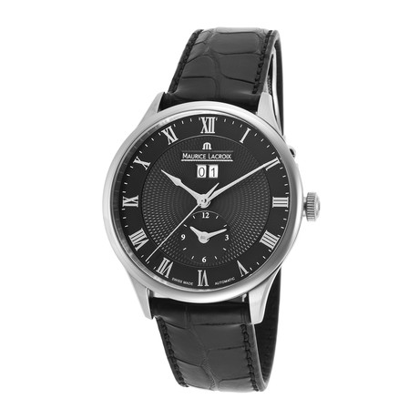 Maurice Lacroix Masterpiece Dual Time Automatic // MP6707-SS001-310