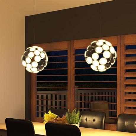 Kastra // Modern Globe Chandelier Lighting