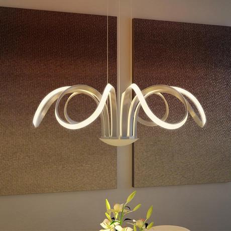 Capella // LED Petal Chandelier
