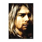 Kurt Cobain As Darkness Fell (Acrylic // Glossy Finish)