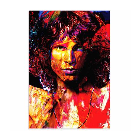 Jim Morrison Window of My Soul (Acrylic // Glossy Finish)