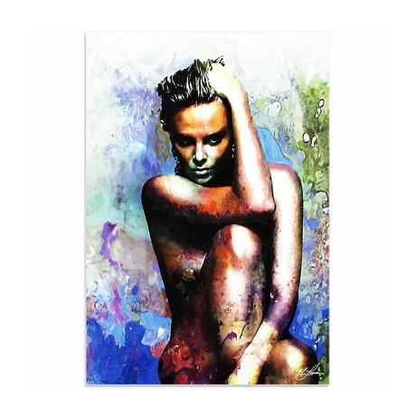 Charlize Theron Blue Daze 2 (Acrylic // Glossy Finish)