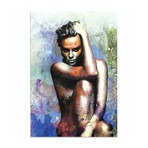 Charlize Theron Blue Daze 2 (Acrylic // Glossy Finish)