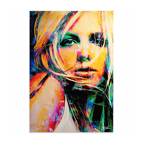 Britney Spears Snow Blind (Acrylic // Glossy Finish)