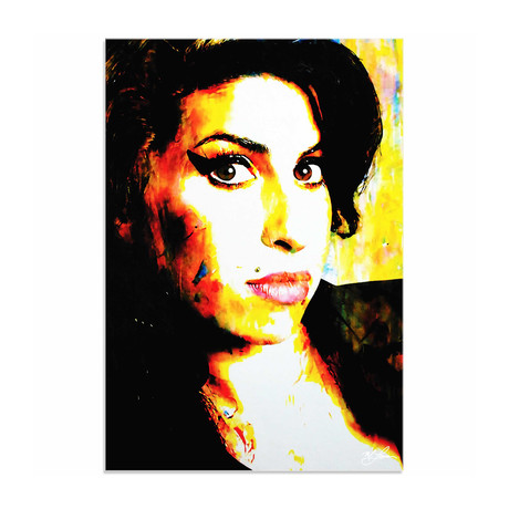 Amy Winehouse A School of Thought (Acrylic // Glossy Finish)