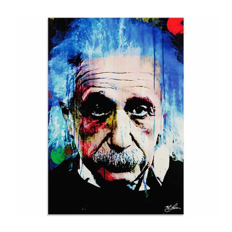 Albert Einstein Questioning Tomorrow (Acrylic // Glossy Finish)