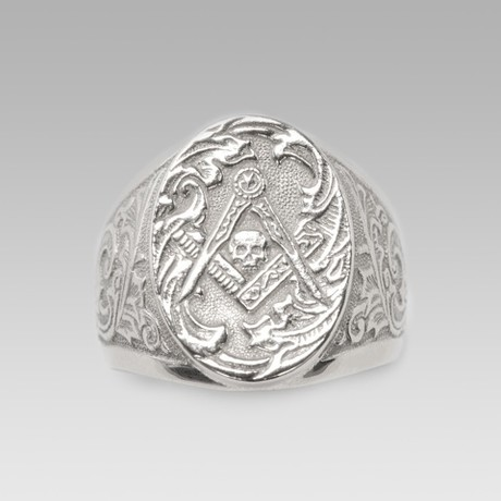 Mason // Sterling Silver (Size 8)