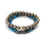 The Blue Horizon Bracelet Set