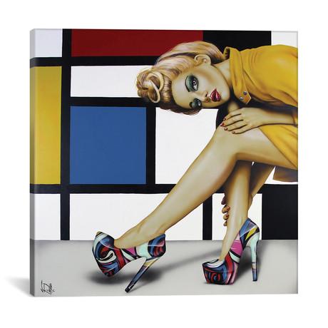 """Shoes! Shoes! Never Enough Shoes! (18""""W x 18""""H x 0.75""""D)"""