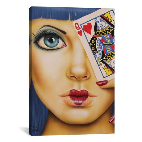 "Queen Of Hearts (18""W x 26""H x 0.75""D)"