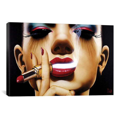 "Pour Yourself A Drink by Scott Rohlfs (26""W x 18""H x 0.75""D)"