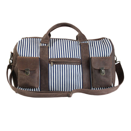 Leather + Denim Barbados Travel Bag