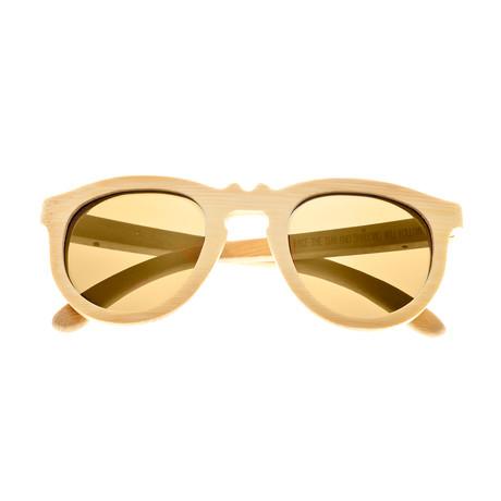Venice Sunglasses (Rosewood Frame // Gold Lens)