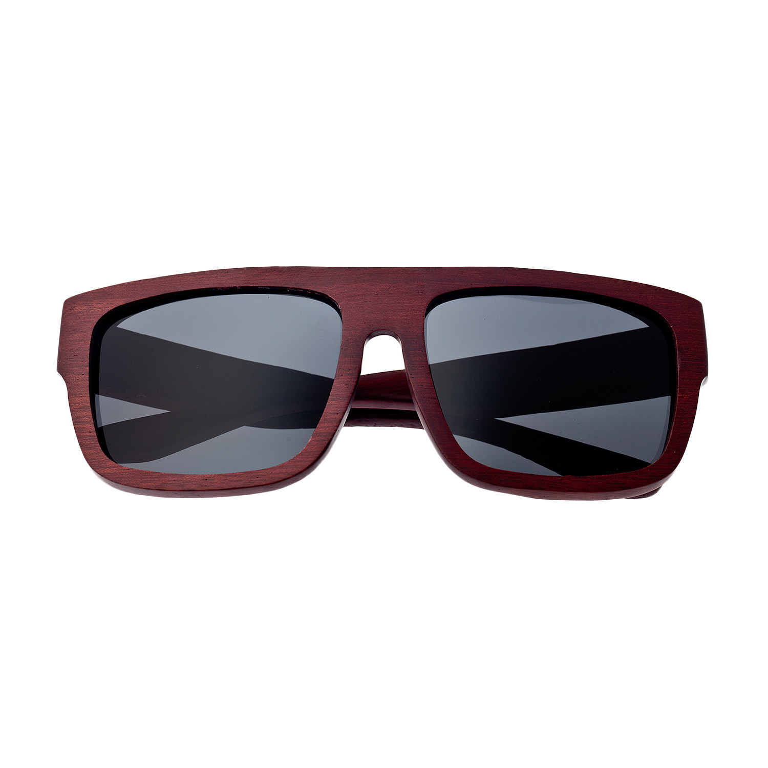 Hermosa Sunglasses (Bamboo Frame // Black Lens) - Earth Wood ...