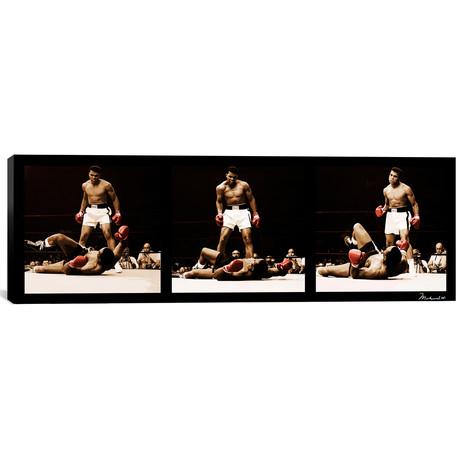 Muhammad Ali Vs. Sonny Liston // Black Canvas