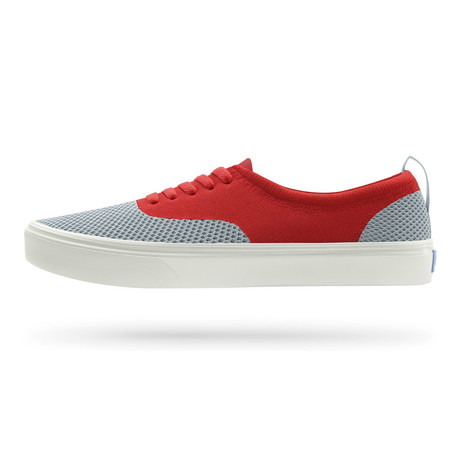 Stanley Knit Sneaker // Gallery Grey + Superme Red + Picket White