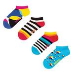 Ballonet // Ankle Sock // Ninja Star // Pack of 4 (Size: 6-9)