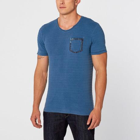 Kenneth T-Shirt // Medium Blue