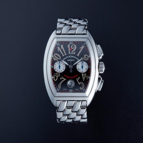 Franck Muller Conquistador Chronograph Automatic // 8002 CC // Pre-Owned