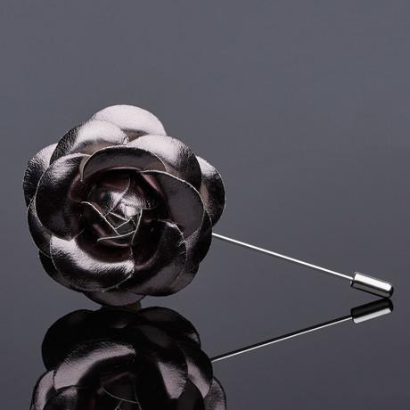 The Jay Lapel Pin // Gunmetal