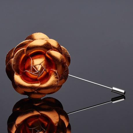 The Jay Lapel Pin // Gold