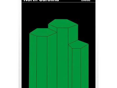 Touch Of Modern - State Posters Celebrate Your State North Carolina Photo