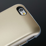 WiCase Wireless Charging Battery Case // iPhone 6/6s (Gold)