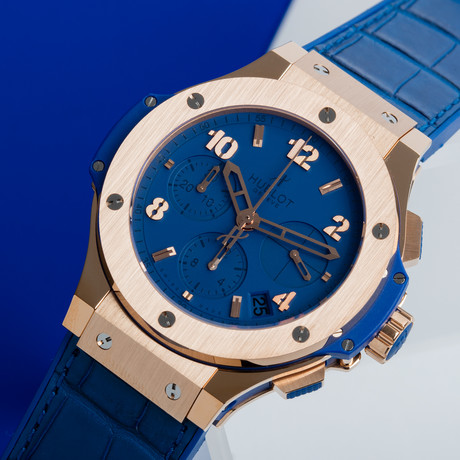 "Hublot Big Bang ""Tutti Frutti Dark Blue"" Automatic // 341.PL.5190.LR"