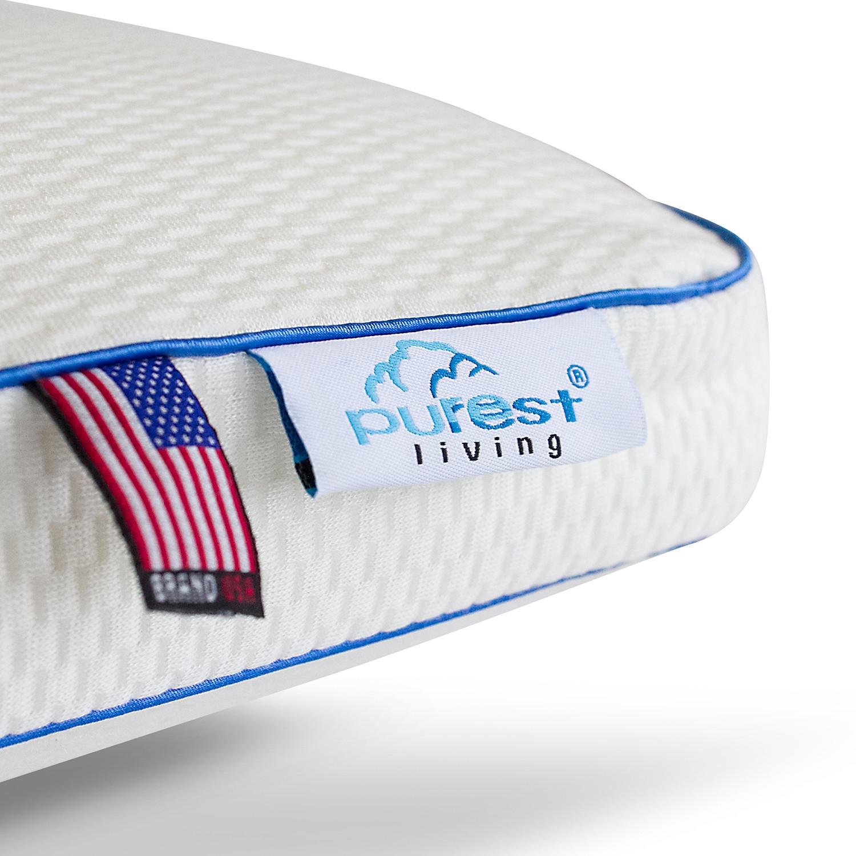 Pure Rest Living Italian Style Luxury Memory Foam Bed