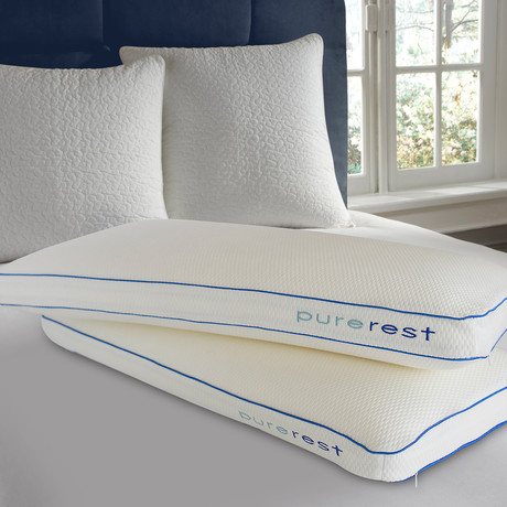 Pure Rest Living Italian Style Luxury Memory Foam Bed Pillow (Extra Large) - Pure Rest by Rio ...