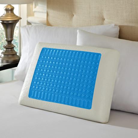 Pure Rest Gel Top Memory Foam Pillow