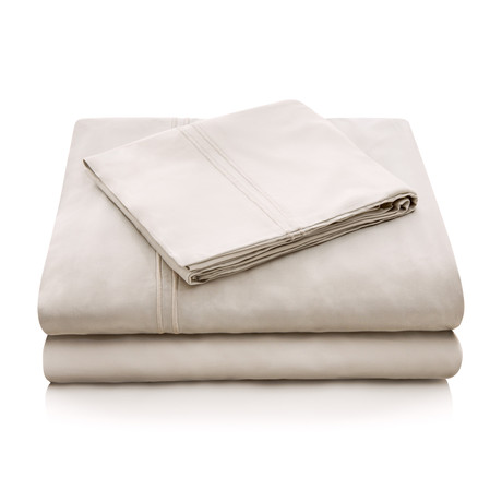 Malouf // Rayon Bamboo Sheet Set // Driftwood (Queen)