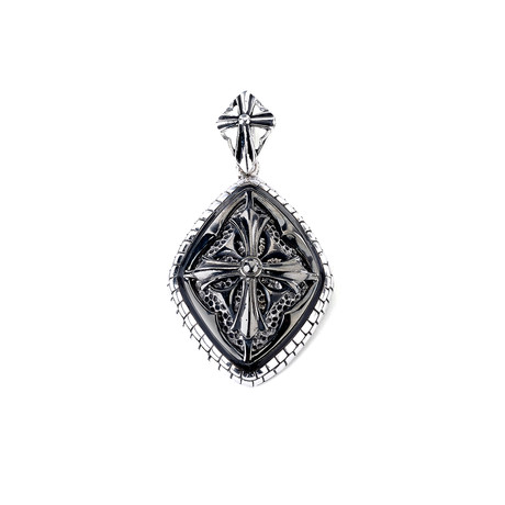 Cross Pendant // Silver