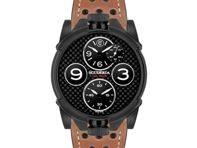 Photo of CT Scuderia Racing Inspired, Swiss Made CT Scuderia 2 Tempi Quartz // CS40300 // New by Touch Of Modern