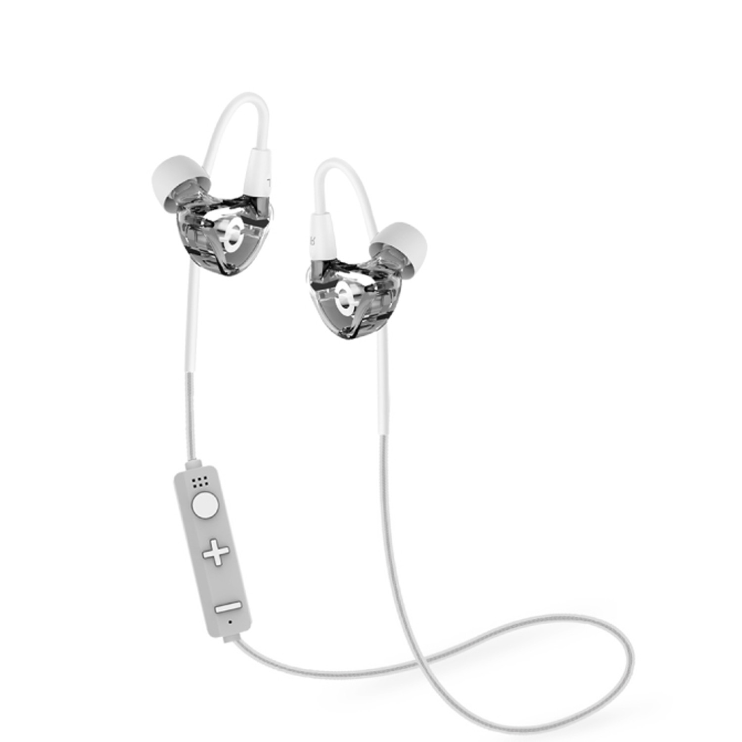 Revjams Lite Sport Wireless Bluetooth Earbuds Clear Jarv Mobile Touch Of Modern