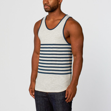 Jerry Long Curved Tank // Oatmeal