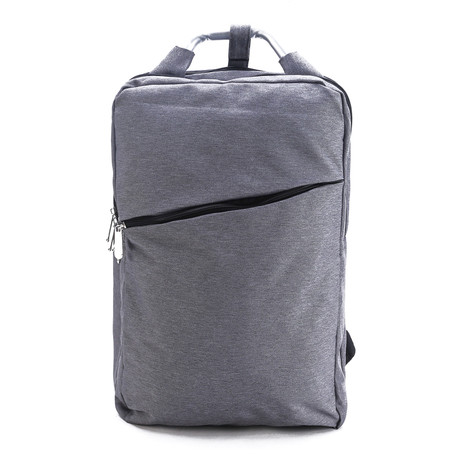 Cotton Lightweight Backpack // Grey