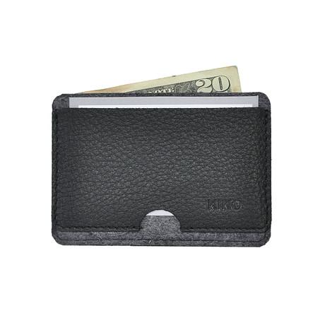Combo Card Case // Black