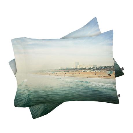 Santa Monica // Pillow Case // Set of 2