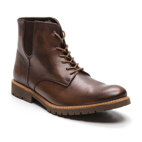 Ortiz & Reed // Calar Leather Boot // Cognac