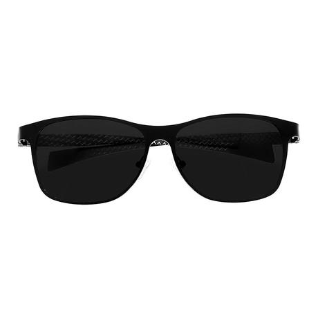 Templar Sunglasses // Titanium (Black Frame // Black Lens)