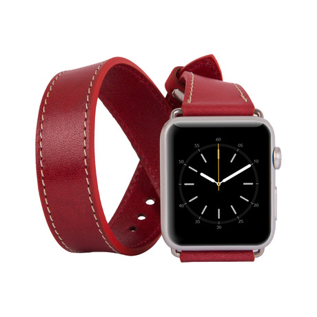Apple Watch Strap // Double Band // Red