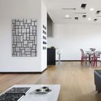 "Composition in Gray, 1919 // Piet Mondrian (12""W x 18""H x 0.75""D)"