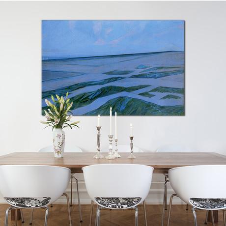 """Dune Landscape // Piet Mondrian // 1912 (18""""W x 26""""H x 0.75""""D)"""