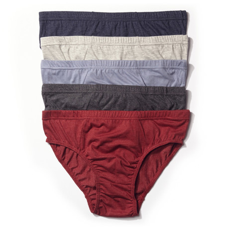 Low-Rise Brief // Multi // Pack of 5 (S)