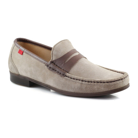 Union Square Suede Loafer // Stone