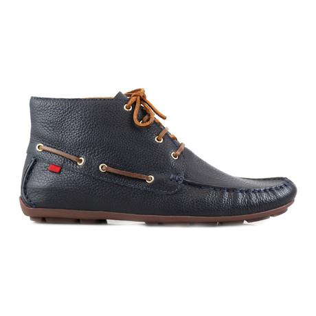 Soho Leather Bootie // Navy (US: 8)