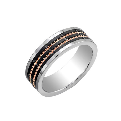 Rose Ceramic Band (Size 7)