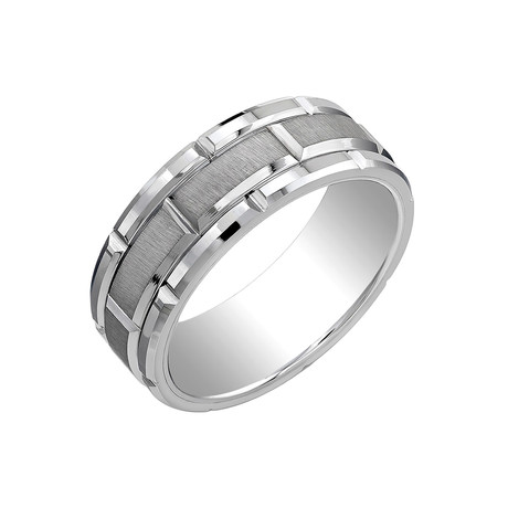 Tungsten Rectangular Band II (Size 7)