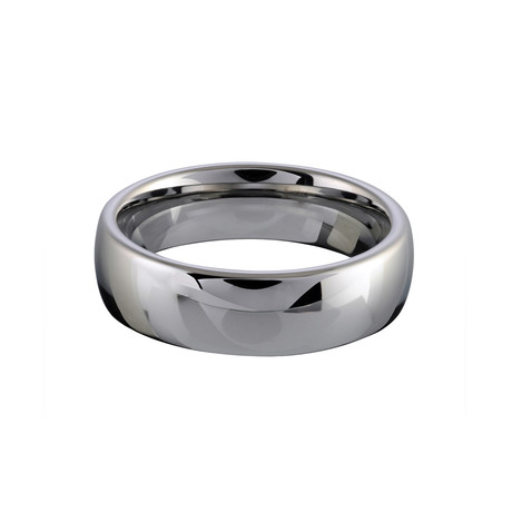 Tungsten Tiffany Band (Size 7)